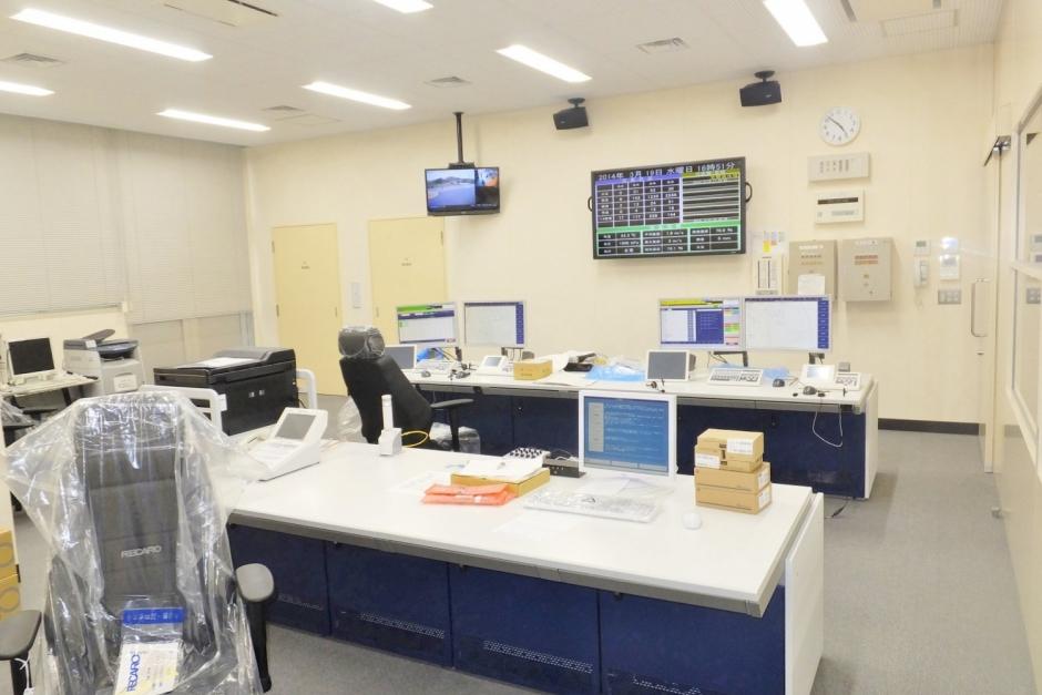 2階 通信指令室