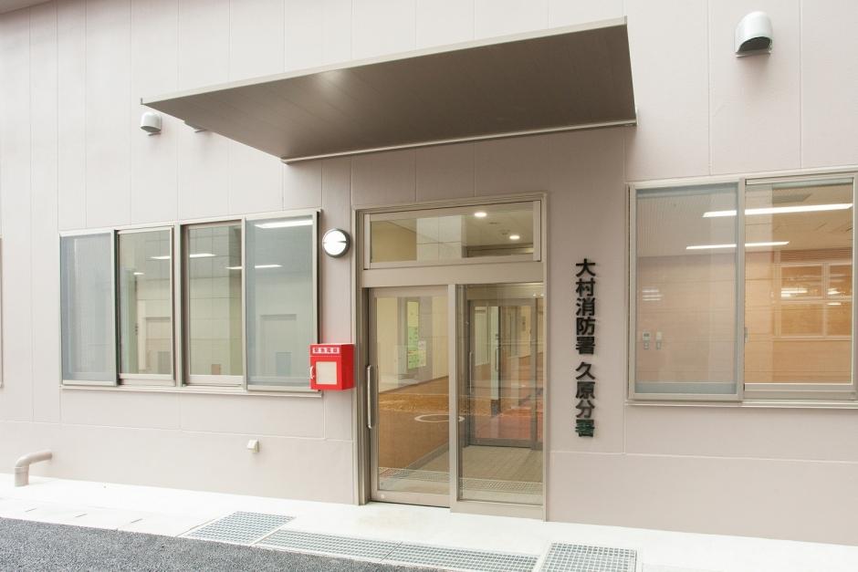 玄関(B1階)